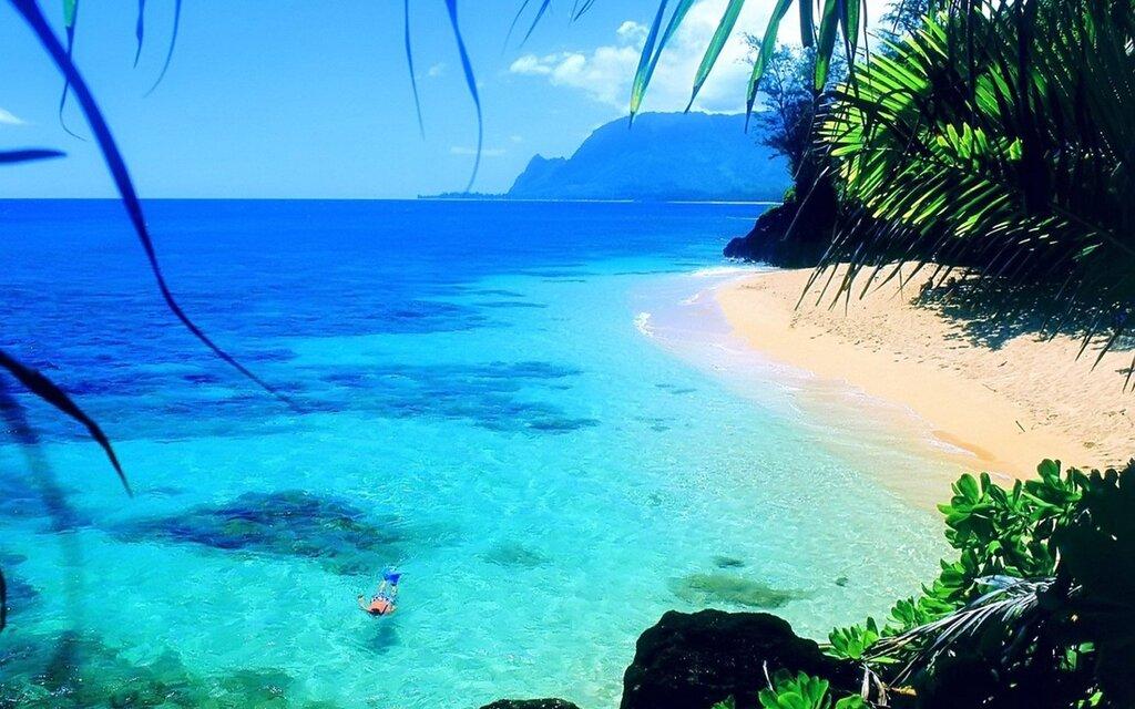 фото пляжи океана