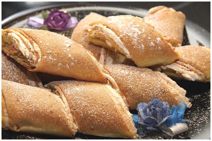 Рулет-печенье с безе фото рецепт
