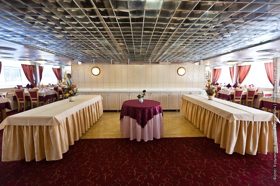 фото ресторана теплоход Лев Толстой
