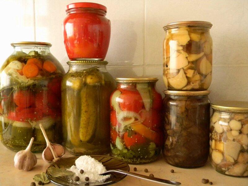 Овощи консервированные в домашних условиях 19