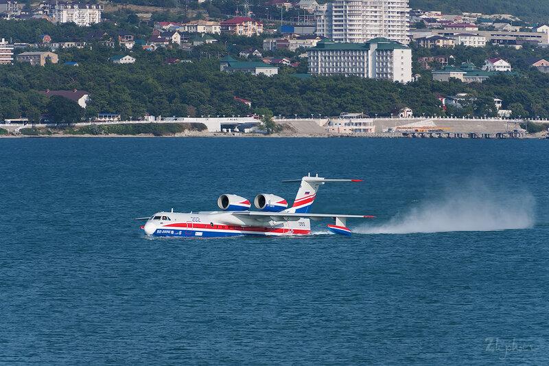 Бериев Бе-200ЧС (RF-21512) ТАНТК Бериева DSC_4312