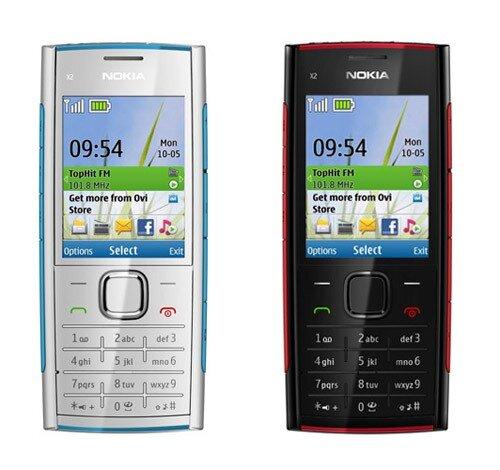 Nokia X2-00 (разные расцветки)