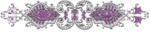 Разделители фиолетовые