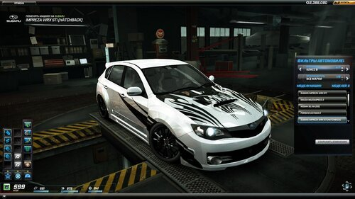 NFS World Subaru WRX STI