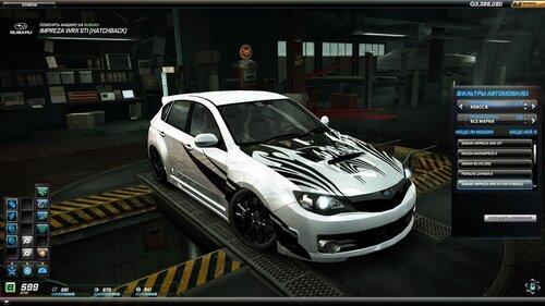 NFS World Subaru WRX STI