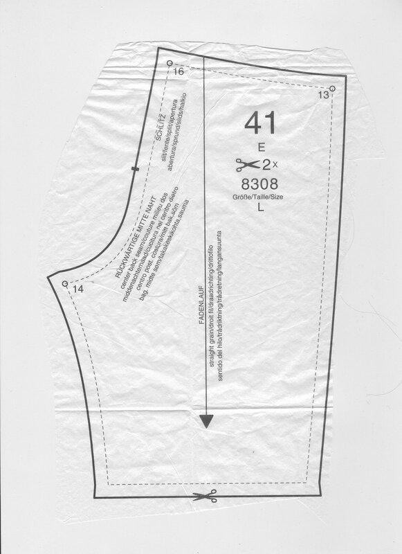 Выкройка штанов на беби бона