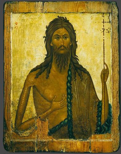 Иоанн Предтеча. XIV век.