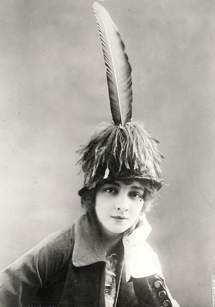 Женские шляпки 1913 - 1915 годов
