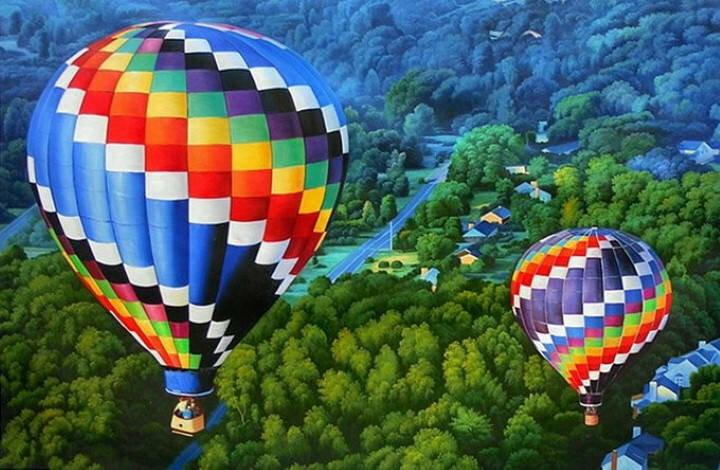 Цветные полотна. Shay Kun 25