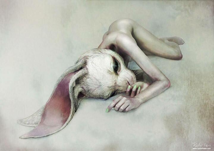 Ryohei Hase. Современный художник из Японии 5