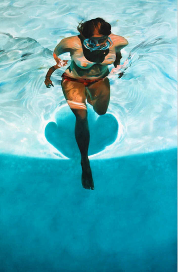 Sarah Harvey. Девушка под водой 27