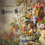 Scrap kit «Strаngе beauty»