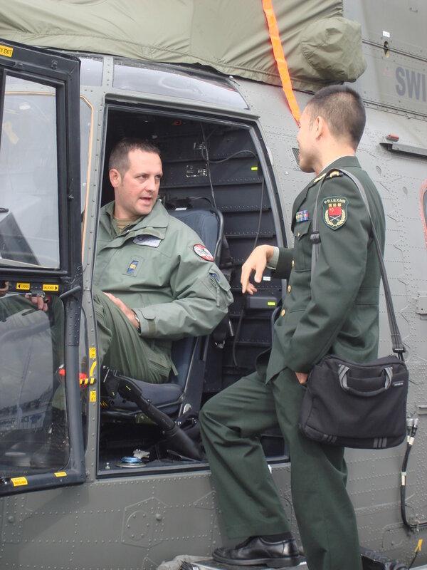 Военные атташе на авиасалоне ILA-2012