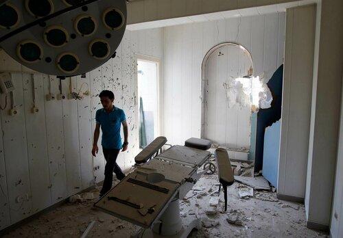 провокация госпиталь сирии россия