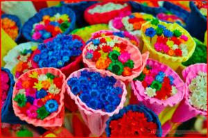 10 сентября - день разноцветных букетов