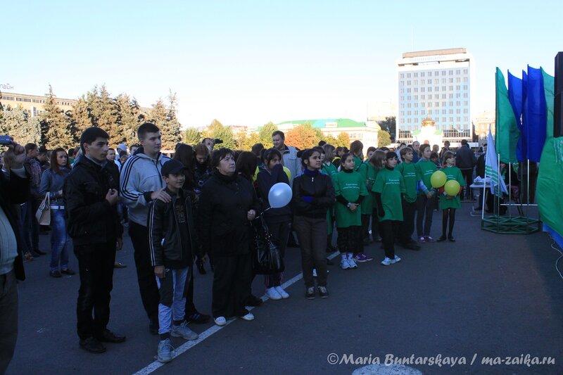 День трезвости, Саратов, Театральная площадь, 11 сентября 2012 года