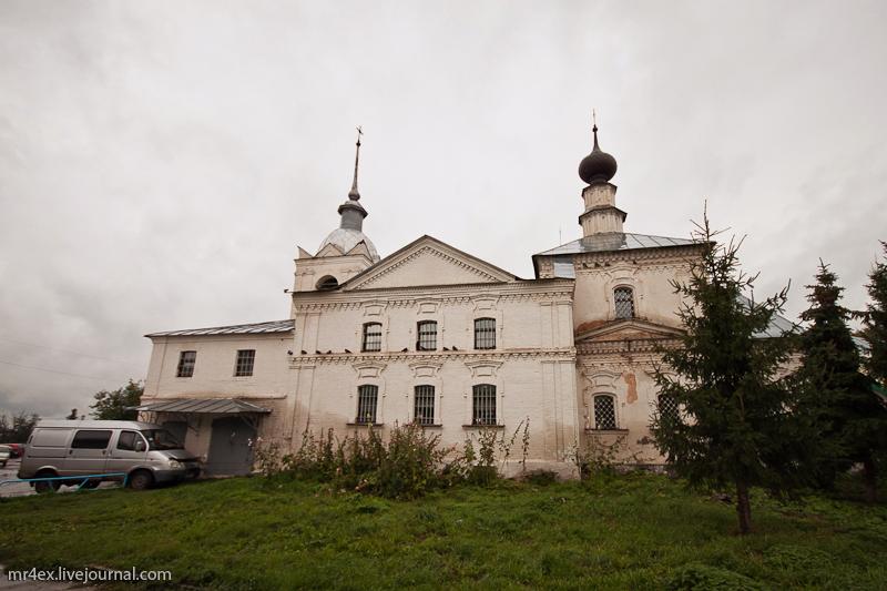 Суздаль. Кресто-Никольская церковь