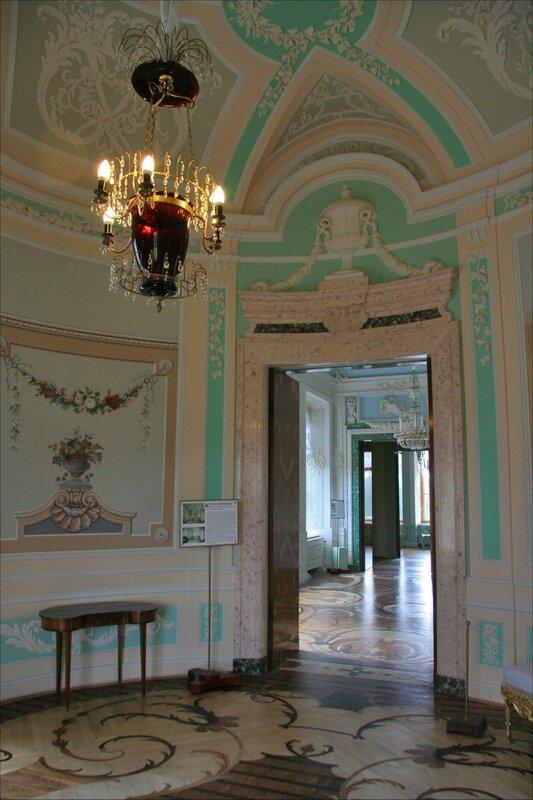 Гатчинский дворец, Овальный будуар императрицы Марии Федоровны