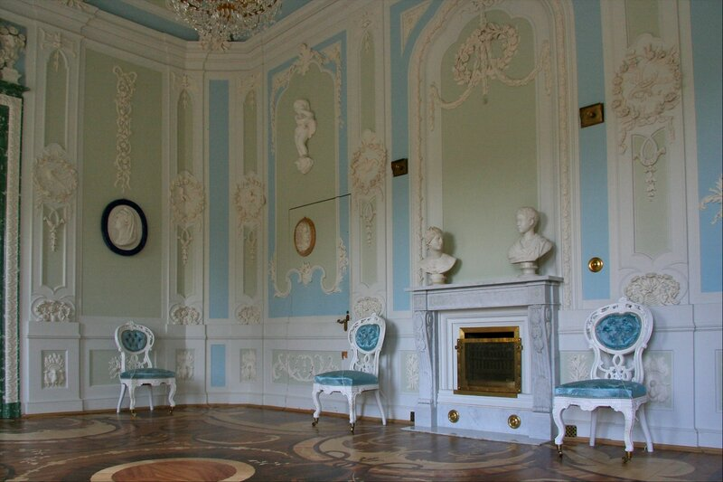 Гатчинский дворец, Туалетная