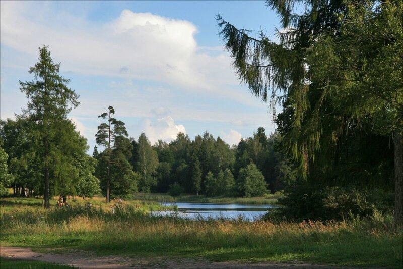 Гатчина, Приоратский парк