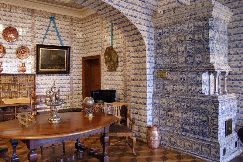 Дворец Меншикова, Морской кабинет