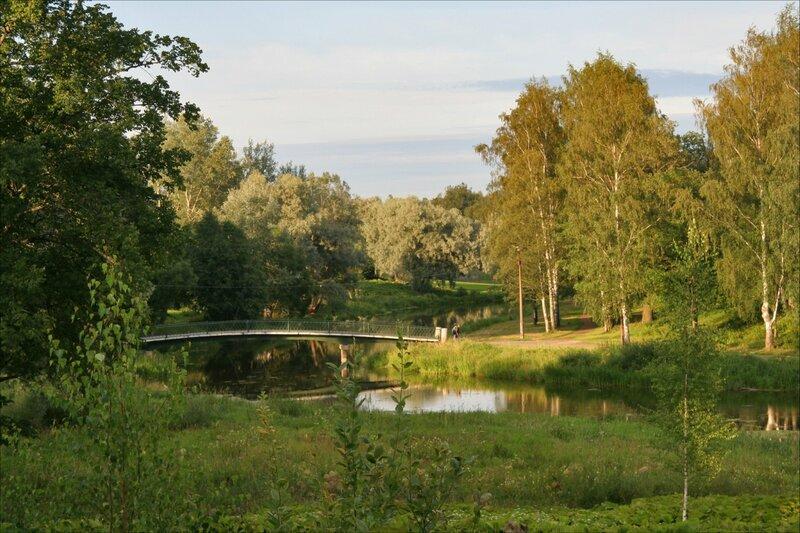 Павловск, парк Мариенталь