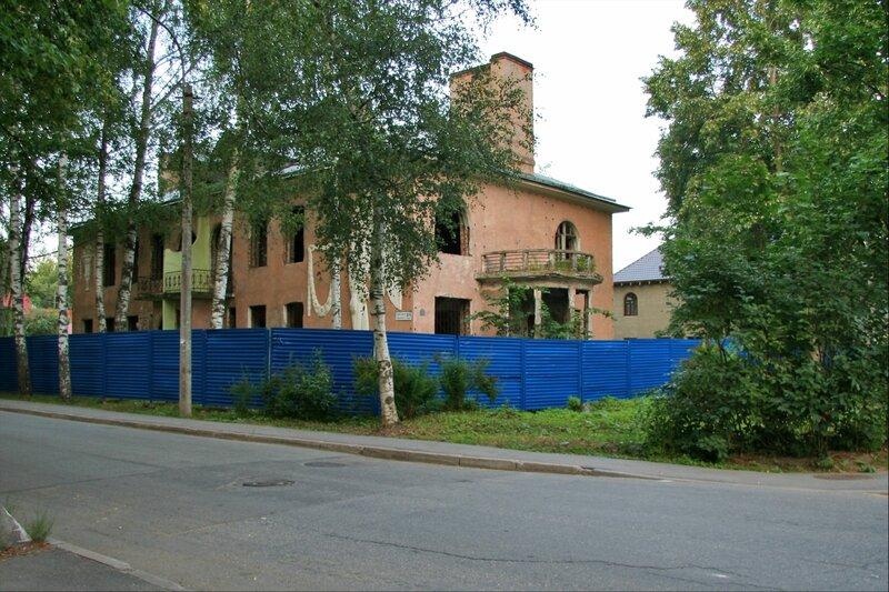 Бывшая дача С.Мандель, Павловск