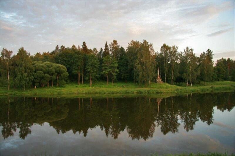Павловск, Мариентальский пруд и Щвейцарские Высоты