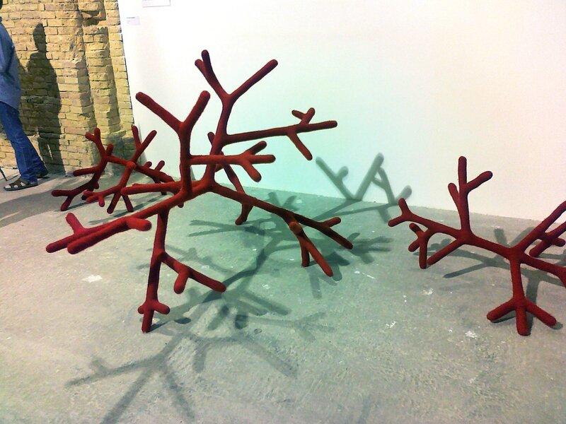 Инсталляция Рога