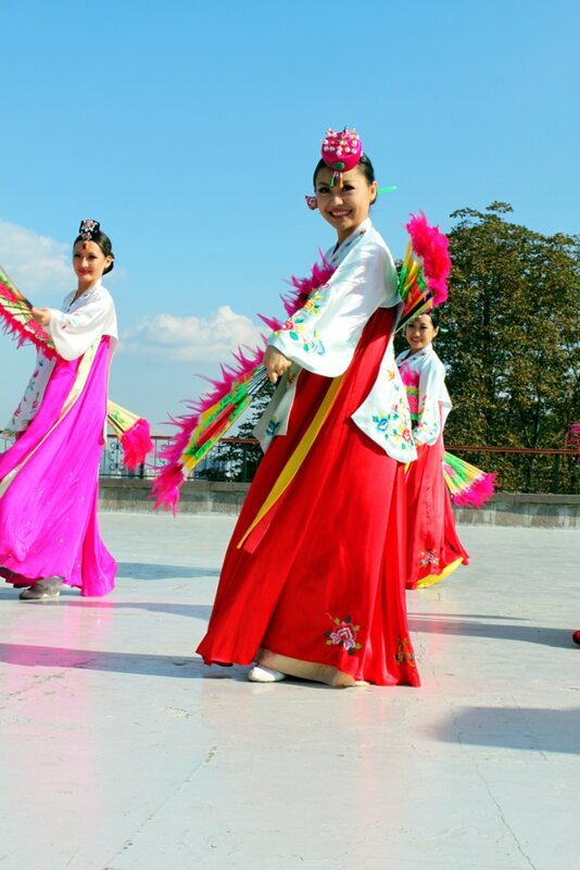 Японский танец
