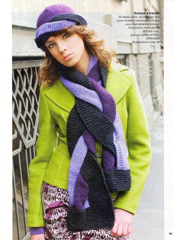 Вяжем шапки, шарфы - Сайт о