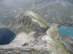 Черное и Голубое Муруджинские озера