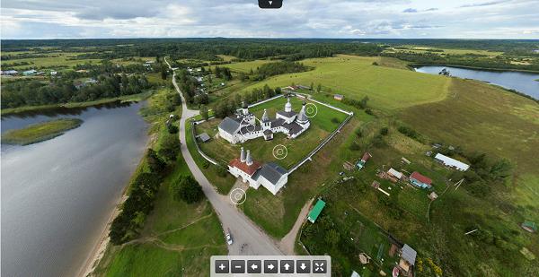 Ферапонтов монастырь. Виртуальный тур