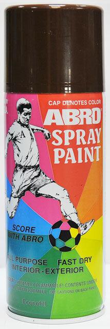 Краска спрей коричневая А-067 Abro