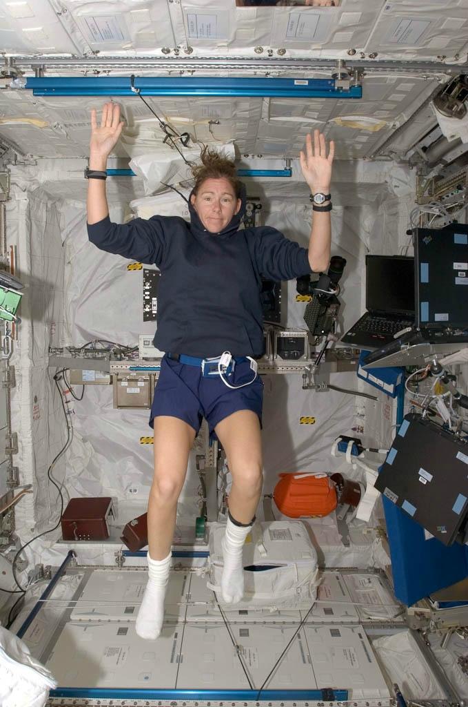 Интернет-дневник астронавтки Сандры Магнус