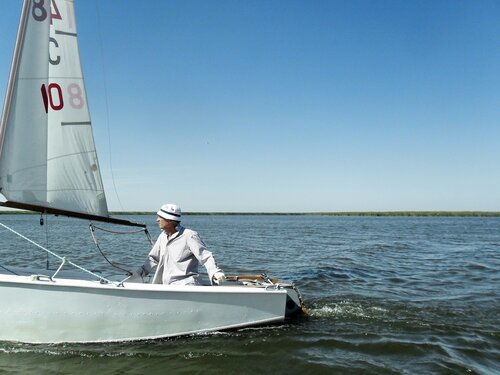 На яхте,  сентябрь 2012