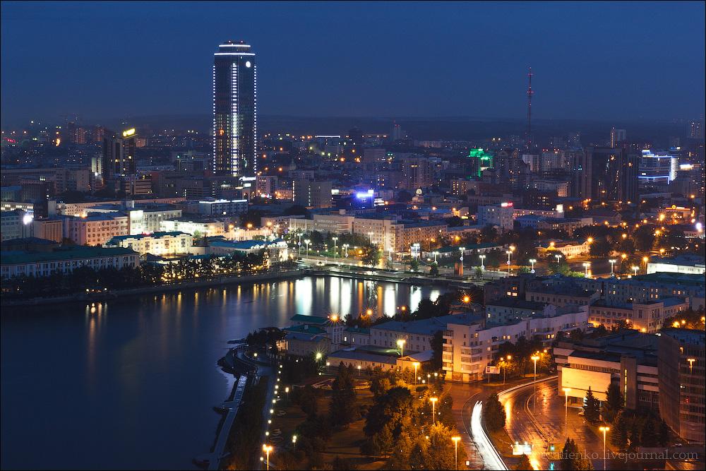 знойную ночной екатеринбург фото города сети