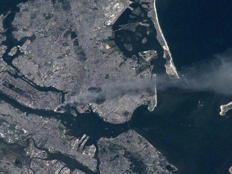 9/11: взгляд из космоса