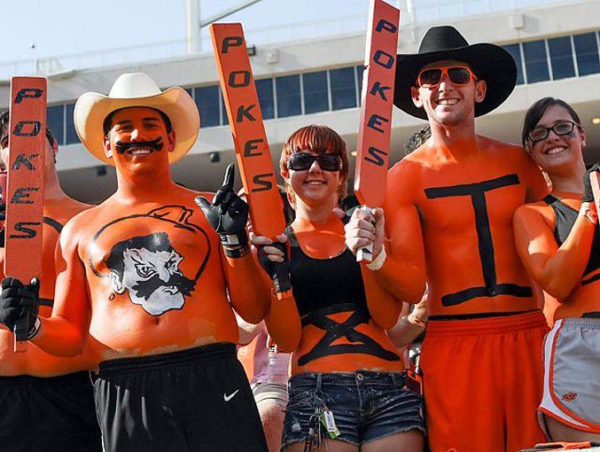 Студенческий чемпионат по американскому футболу 2012 - 1-ая неделя / Ковбои из Университета Oklahoma State