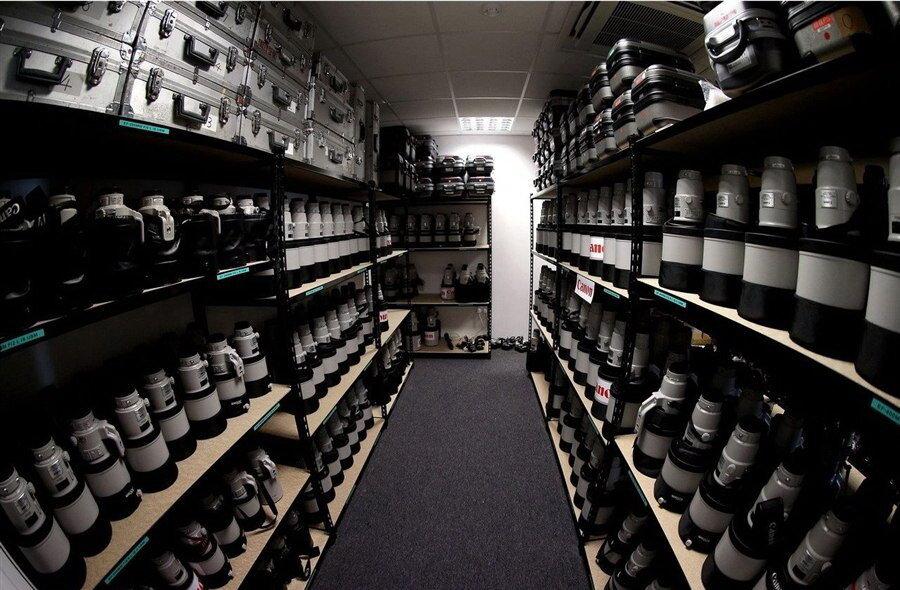 Офис Canon Professional Services на лондонской Олимпиаде 2012