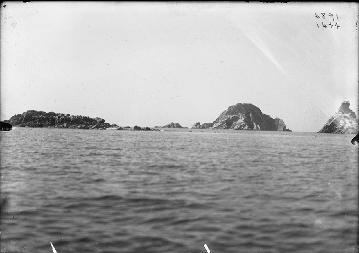 Острова в заливе Кишига, 1897-1902