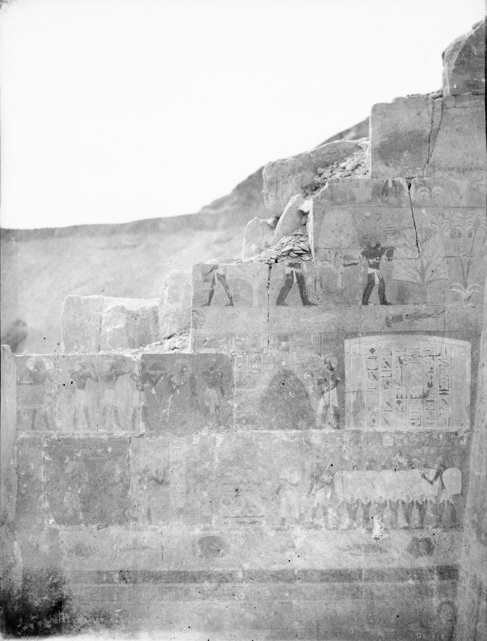 Дейр эль-Бахри. Заупокойный храм Хатшепсут