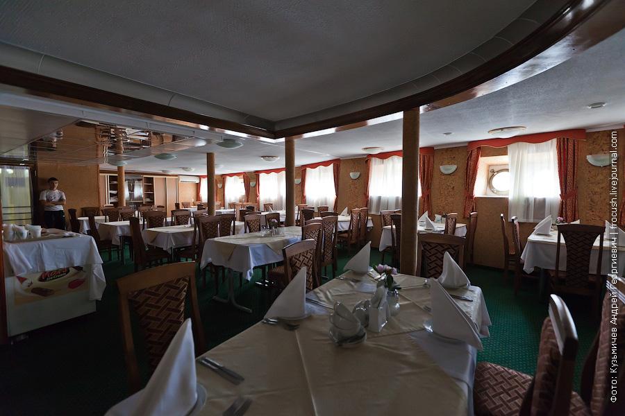 Ресторан теплоход Кулибин