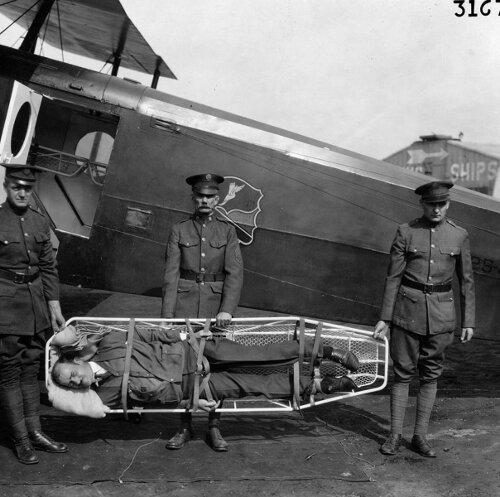 Douglas C-1 air ambulance,  1928