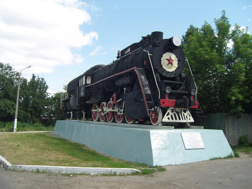 паровоз Л-0012 «Лебедянка»