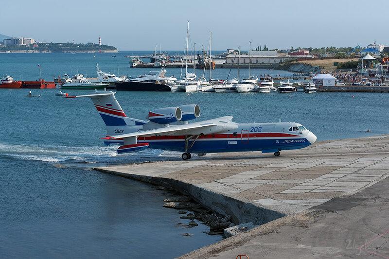 Бериев Бе-200ЧС (RF-21512) ТАНТК Бериева DSC_4319