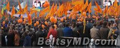 Проблема «оранжевых революций»всё ещё актуальна