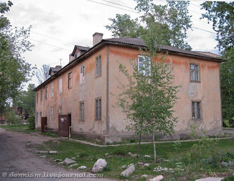 Фрязино. Улица Нахимова, дом 20.
