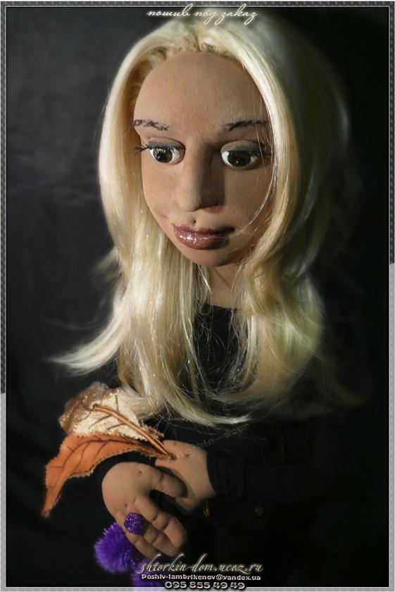 Портретная текстильная кукла,кукла с портретным сходством,кукла по фото,