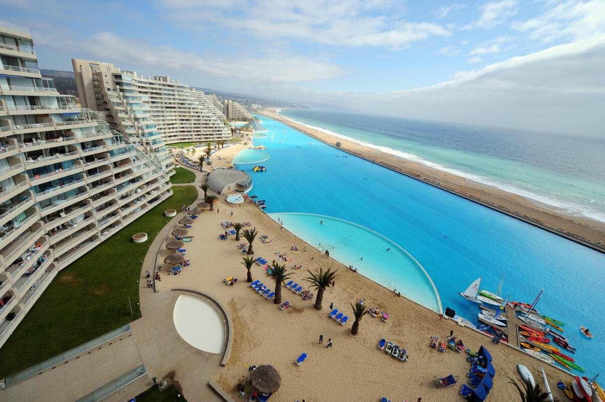 Самый большой бассейн в мире